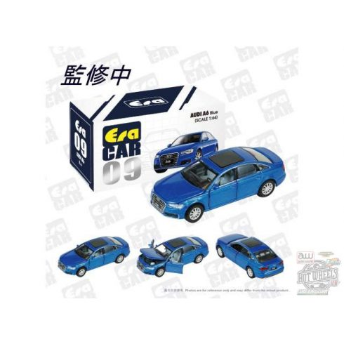 Era Car 2009 Audi A6, blue 1:64