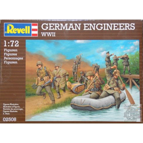 REVELL German Engineers WWII (PLASTIC MODELL KIT) 1:72