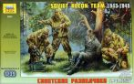 ZVEZDA Soviet Recon Team 1943-1945 (PLASTIC MODELL KIT) 1:35