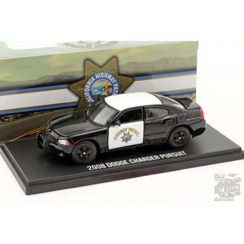 GreenLight 2008 Dodge Charger California Highway Patrol 1:43
