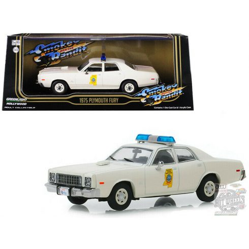 GreenLight 1975 Plymouth Fury Mississippi Highway Patrol 'Smokey and the Bandit 1977' 1:43