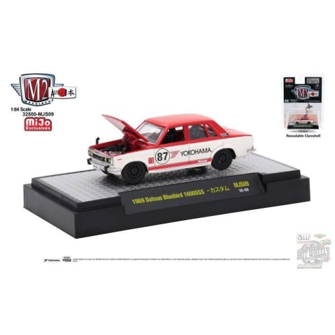 M2 MACHINES Auto Japan Series R2 1969 Datsun Bluebird 1600 SSS 'Yokohama' - MIJO EXCLUSIVE - 1:64