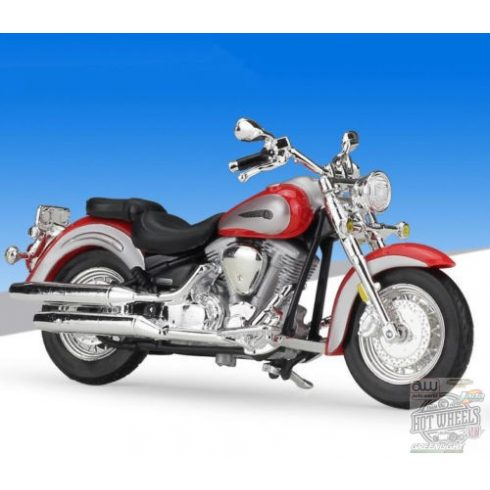 Maisto Yamaha Road Star 2001, Red 1:18