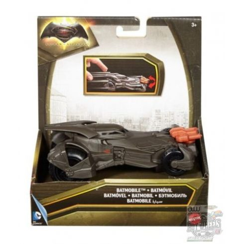 Mattel Batman Vs. Superman Speed Strike Batmobile (15.5cm)