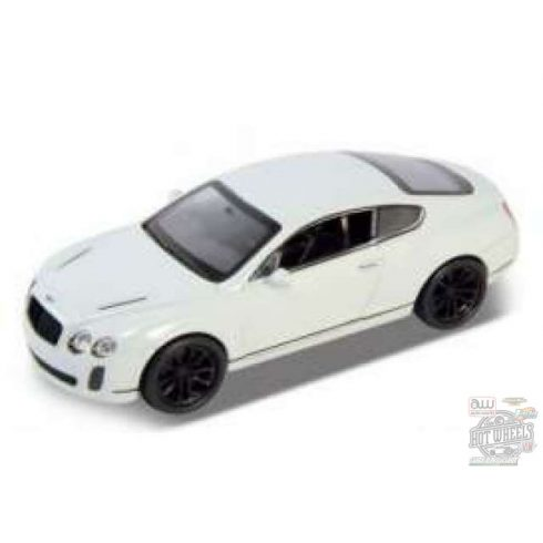 WELLY 2012 Bentley Continental Supersports, White 1:34