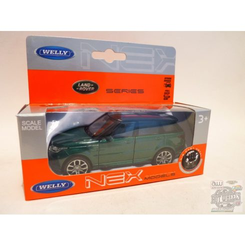 WELLY Range Rover Sport, Green 1:34