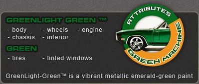 Greenlight GREEN MACHINE & PROMO